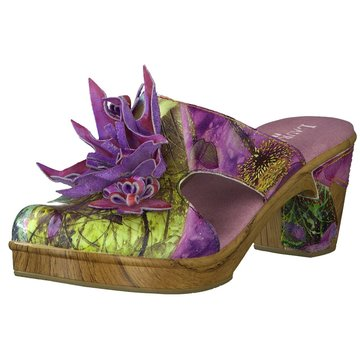 Laura Vita Plateau Pantolette lila