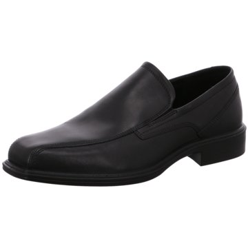 Ecco Business Slipper schwarz