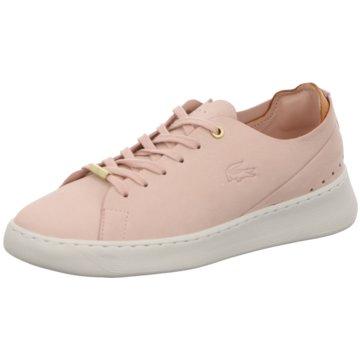Lacoste Sneaker Low rosa