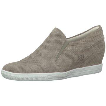 Tamaris Sneaker Wedges braun