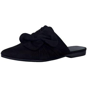 Tamaris Mules Pantoletten schwarz