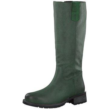Jana Komfort Stiefel grün