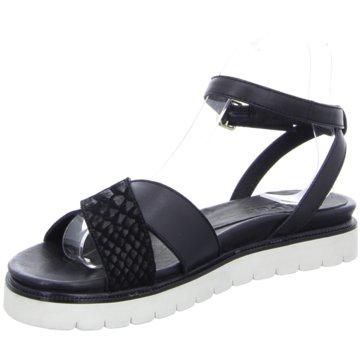 SPM Modische Sandaletten schwarz