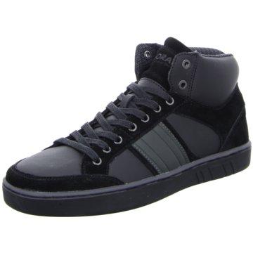 Boras Sneaker High schwarz