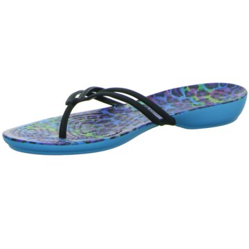 Crocs Zehentrenner blau