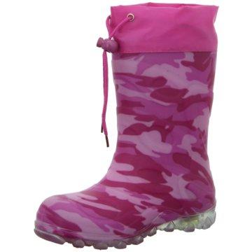 BECK Gummistiefel pink