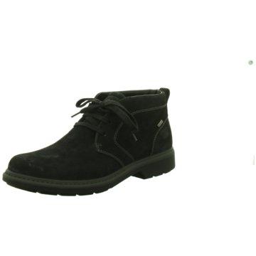 Ara Men Komfort Stiefel schwarz