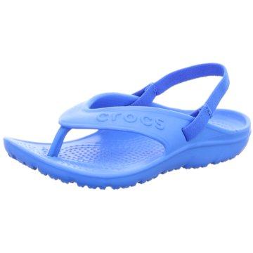 Crocs Sandale blau