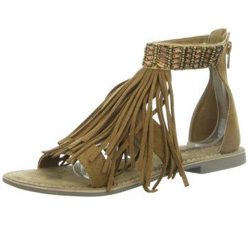 Lazamani Modische Sandaletten braun