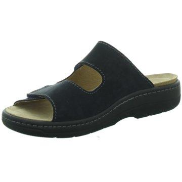 Tofee Komfort Sandale blau