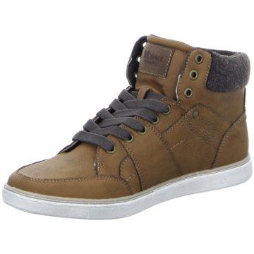 Montega Shoes & Boots Sneaker High braun