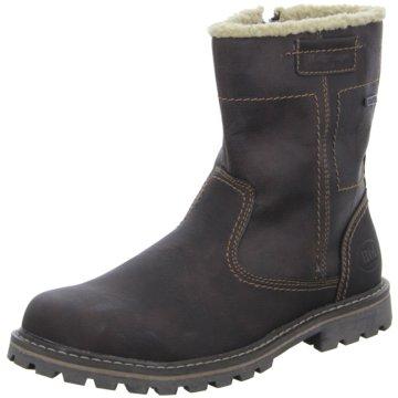 Montega Shoes & Boots Stiefelette braun