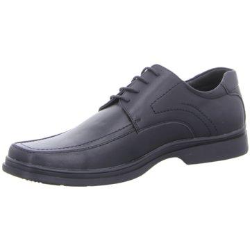 Montega Shoes & Boots Business Schnürschuh schwarz