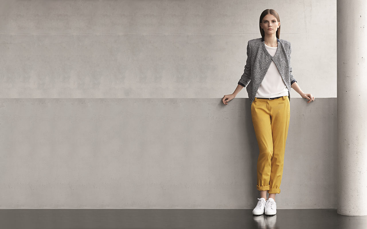 fashionworld trends wei e sneaker. Black Bedroom Furniture Sets. Home Design Ideas