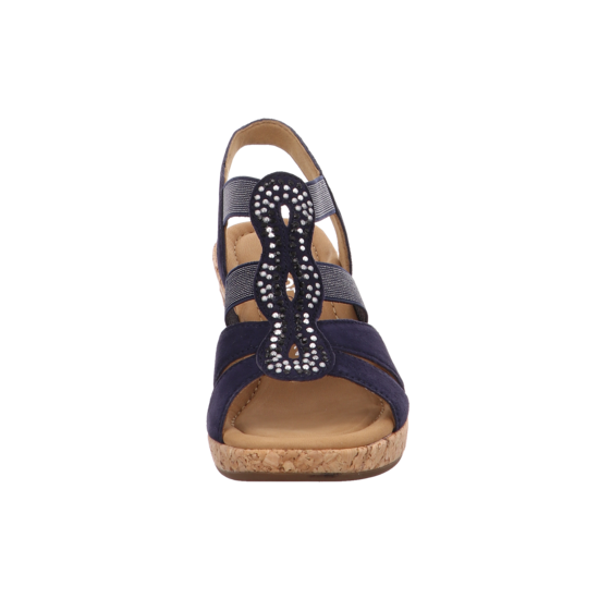 Sandaletten Comfort Gabor Plateau Von 36 Sandale 22 774 Blau vm0N8nw