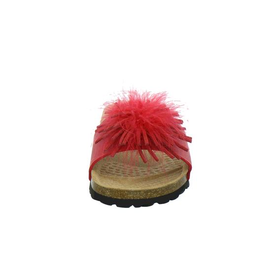 Rot rot Pantoletten 274114 Klassische Tempora Von rxBCeod