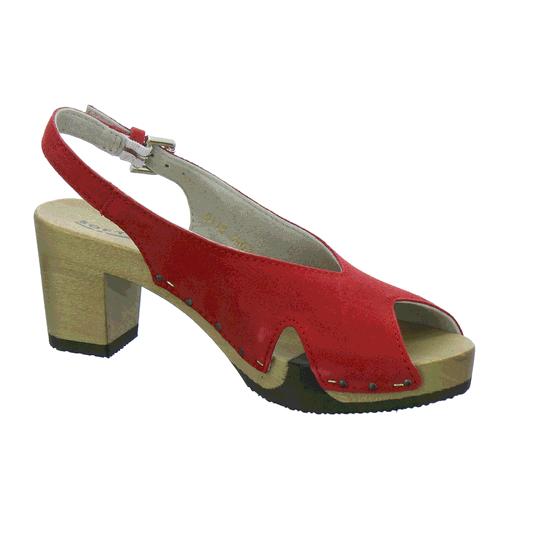 Wiebke 3463 Sandale Softclox Von Plateau Rot Sandaletten W9H2YDEI