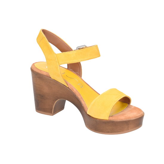 ks Onesia cuir Unisa Gelb Sandaletten Von HYIWED29