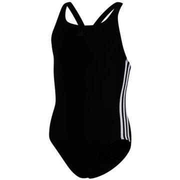 adidas BadeanzügeFIT SUIT 3S Y - DQ3319 schwarz
