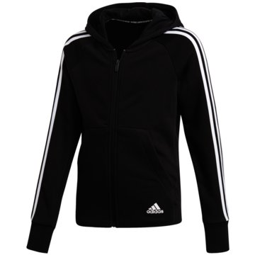 adidas TrainingsjackenYG MH 3S FZ HD - DV0316 -