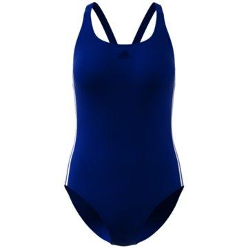 adidas BadeanzügeATHLY V 3-STREIFEN BADEANZUG - DY5910 blau