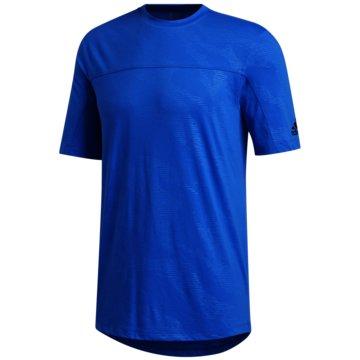 adidas T-ShirtsTKY CAMO TEE - FM2668 blau