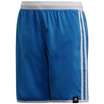 adidas BadeshortsYB 3S SHORTS - FM4144 blau