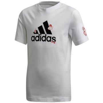adidas T-ShirtsCOLLEGIATE T-SHIRT - FM4473 weiß