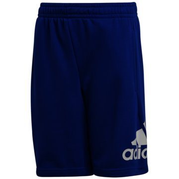 adidas Kurze SporthosenMUST HAVES BADGE OF SPORT SHORTS - FM6462 blau
