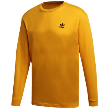 adidas LangarmshirtB+F TRFL LS TEE - GE0862 gold