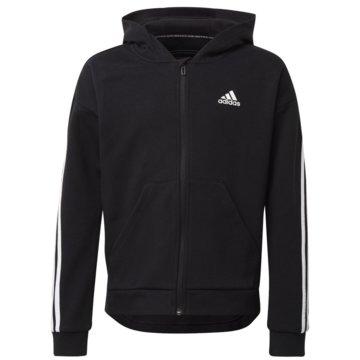 adidas Hoodies3-STREIFEN KAPUZENJACKE - GE0950 schwarz