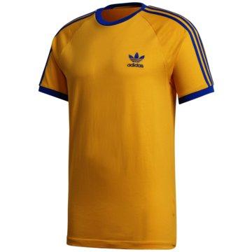 adidas T-Shirts3-STRIPES TEE - GE6233 gelb