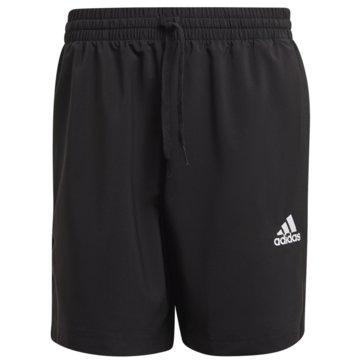 adidas kurze SporthosenAEROREADY ESSENTIALS CHELSEA SMALL LOGO SHORTS - GK9602 schwarz