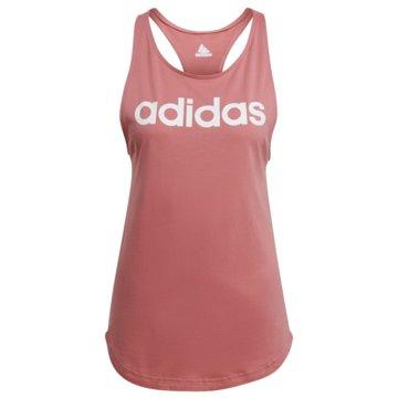 adidas TopsLOUNGEWEAR ESSENTIALS LOOSE LOGO TANKTOP - GL0629 rosa