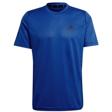 adidas T-ShirtsAEROREADY DESIGNED TO MOVE SPORT T-SHIRT - GM2100 blau
