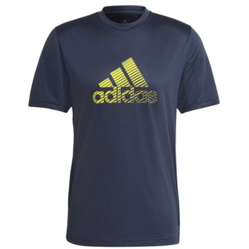 adidas T-ShirtsDESIGNED 2 MOVE ACTIVATED TECH AEROREADY T-SHIRT - GM2164 weiß