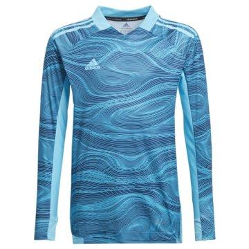 adidas FußballtrikotsCONDIVO 21 PRIMEBLUE LONG SLEEVE TORWARTTRIKOT - GT8425 blau