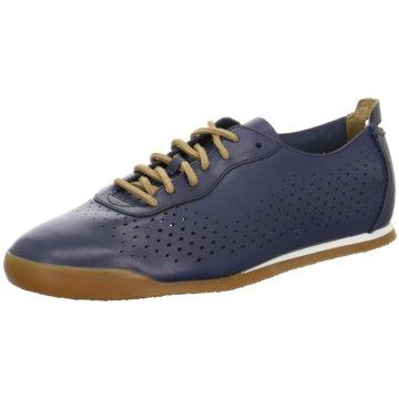 Clarks Sportlicher Schnürschuh blau