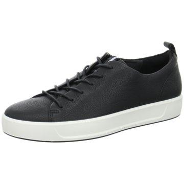 Ecco Sneaker LowSoft 8 Mens schwarz