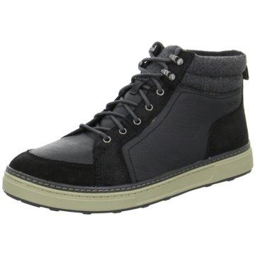 Clarks Sneaker High schwarz