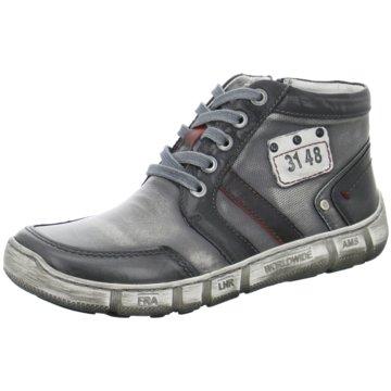 Kacper Komfort Stiefel grau