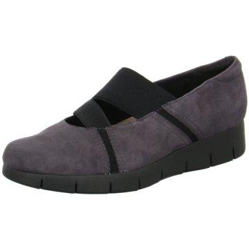 Clarks Komfort Slipper grau