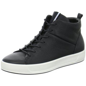 Ecco Sneaker HighSoft 8 Ladies schwarz