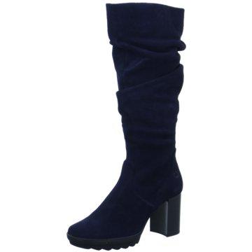 Gerry Weber Plateau Stiefel blau