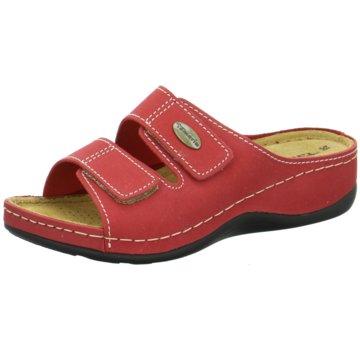 Tamaris Komfort Pantolette rot