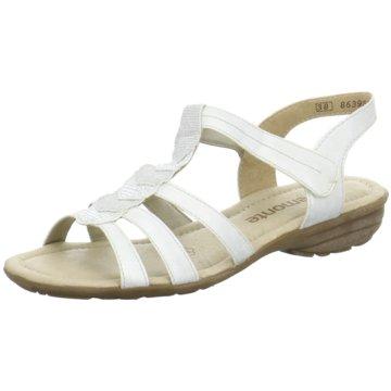 Remonte Komfort SandaleWeite F 1/2 weiß