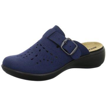 Romika Komfort PantoletteIbiza home 315 blau