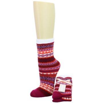 Camano Socken rot