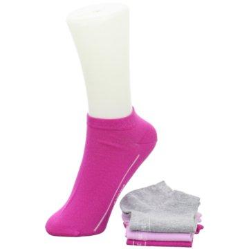 Camano kurze Socken pink
