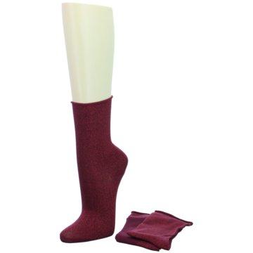 Camano kurze Socken rot